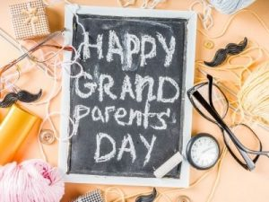 Grandparents day at Child care Centre