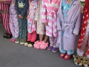 Kids Learning Academy -Pyjama day at Child care centre